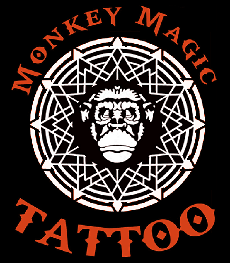Monkey Magic Tattoo Logo